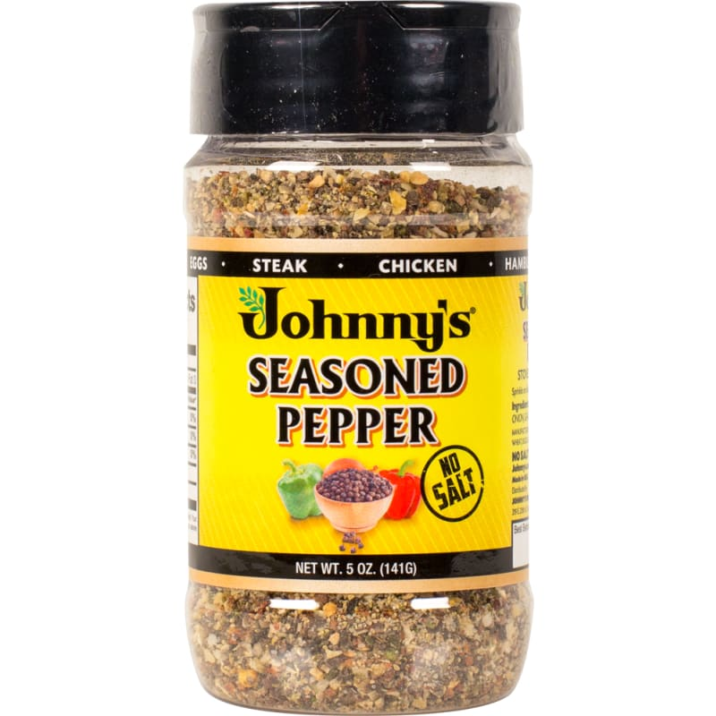 Johnnys Seasoned Pepper 5 Oz - Spices