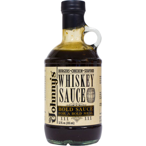 Johnny's Whiskey Sauce 12 Ounce - Sauces