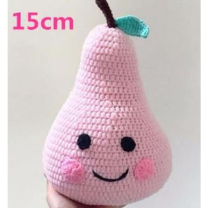 Knitted Pear Baby Bedding Pillow - Pillows