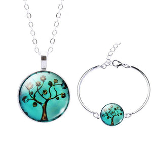 Life Tree Christmas Gift - Set0057 - Jewelry Set