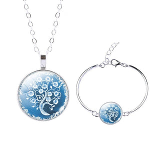 Life Tree Christmas Gift - Set0060 - Jewelry Set