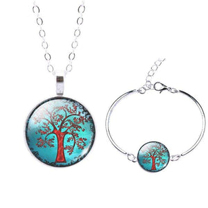Life Tree Christmas Gift - Set0061 - Jewelry Set
