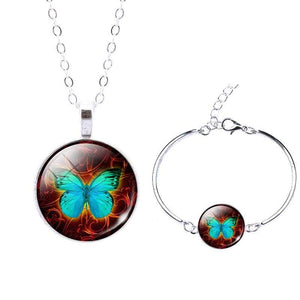 Life Tree Christmas Gift - Set0065 - Jewelry Set