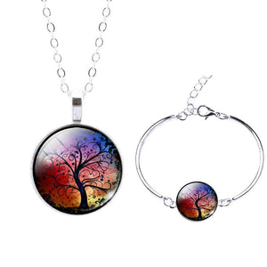 Life Tree Christmas Gift - Set0071 - Jewelry Set