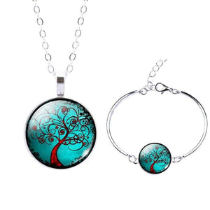 Life Tree Christmas Gift - Set0072 - Jewelry Set