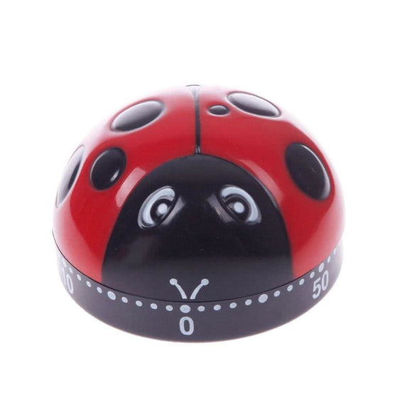 Lovely 60 Minute Ladybug Timer - Kitchen Gadgets