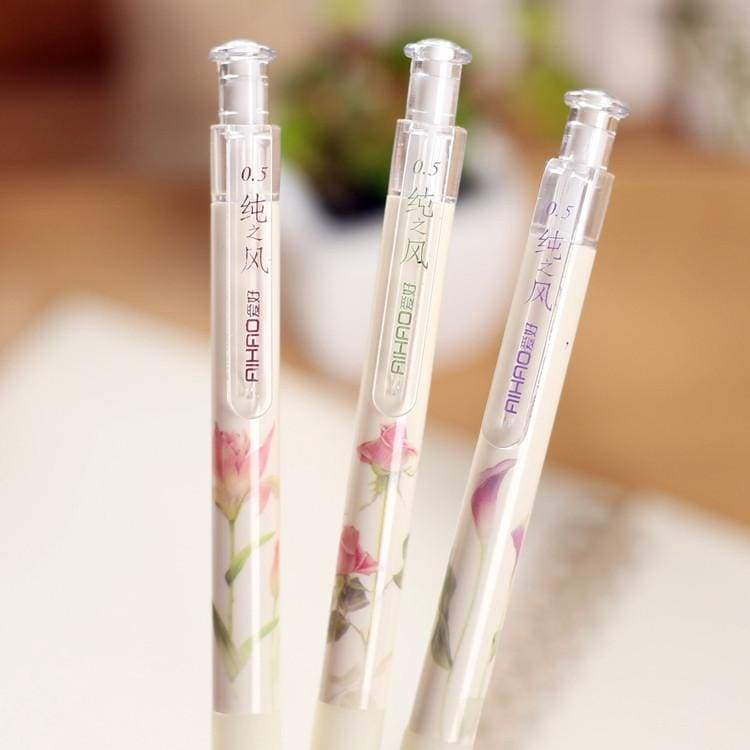 Lovely Flower Automatic Pen - Mechanical Pencil