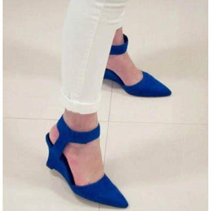 New Fashion Wedges Sandals - Blue / 5 - Sandals