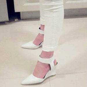 New Fashion Wedges Sandals - White / 5 - Sandals