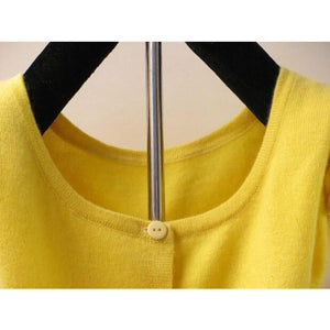 New Style Cashmere Sweater - Cardigan