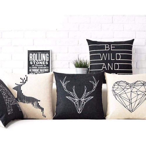 Nordic Style Decorative Throw Pillow Cases - Home Decor