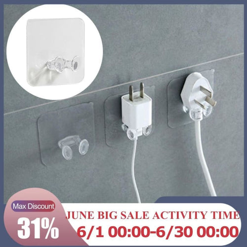 Power Plug Socket Holder - Home Organization