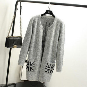 Printed Cardigan - 10 / One Size - Cardigan