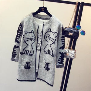 Printed Cardigan - 5 / One Size - Cardigan