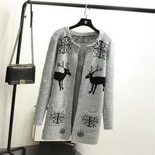 Load image into Gallery viewer, Printed Cardigan - 8 / One Size - Cardigan