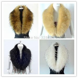 Raccoon Faux Fur Shawl - Shawls