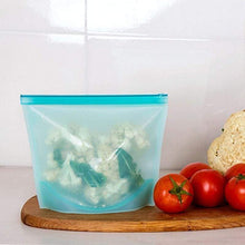 Load image into Gallery viewer, Reusable Silicone Food Bag - default