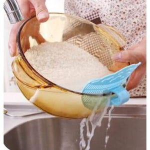Rice Washing Sieve Drainer - Kitchen Gadgets