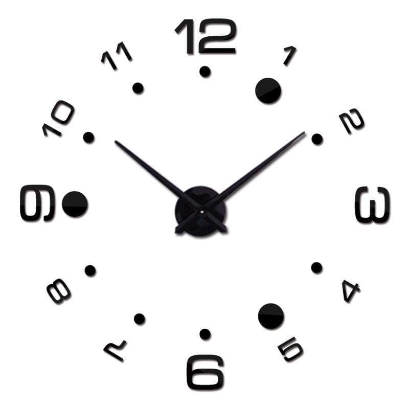 Simple Clock Stickers - Wall Clock