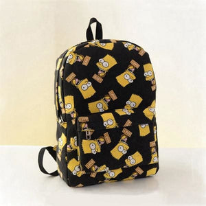 Simpson Backpack - Black - Backpack
