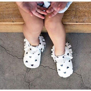 Soft Bottom Fashion Tassels Baby Moccasin - Bear / 1 - Baby Clothing