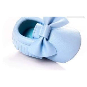 Soft Bottom Fashion Tassels Baby Moccasin - Blue / 1 - Baby Clothing