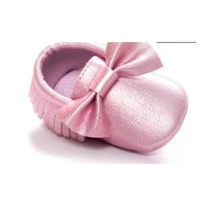 Soft Bottom Fashion Tassels Baby Moccasin - Pink4 / 1 - Baby Clothing