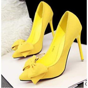 Thin Heel High Heel Shoes - Shoes