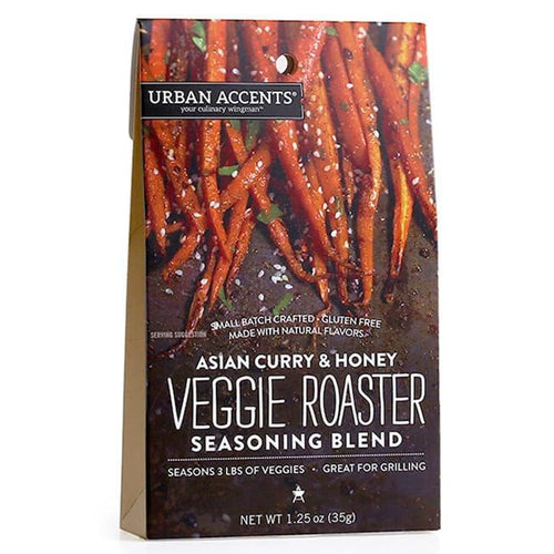 Urban Accents Asian Curry and Honey Veggie Roaster Seasoning Blend (6 Pack) - Spices Seasonings & Extracts