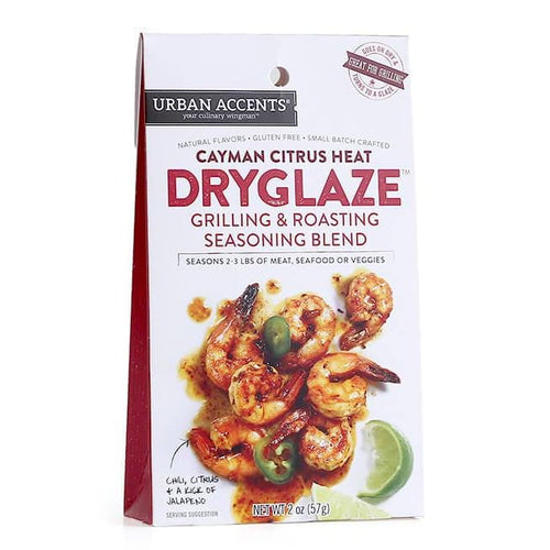 Urban Accents Cayman Citrus Heat Grilling and Roasting Dryglaze 2-Ounce Packages (Pack of 6) - Spices Seasonings & Extracts