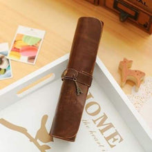 Load image into Gallery viewer, Vintage Pencil Case - iron tower - pencil case