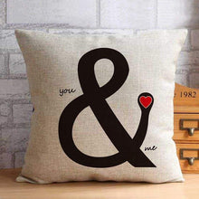 Load image into Gallery viewer, Vintage Wedding Decor Cushion - Love1 / 45X45Cm - Pillowcase