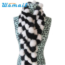 Load image into Gallery viewer, Winter Rabbit Faux Fur Scarf - Shawls