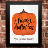 Halloween Pumpkin Print - Hypolita Co.