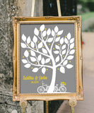 Tree Wedding Guestbook Print - Hypolita Co.