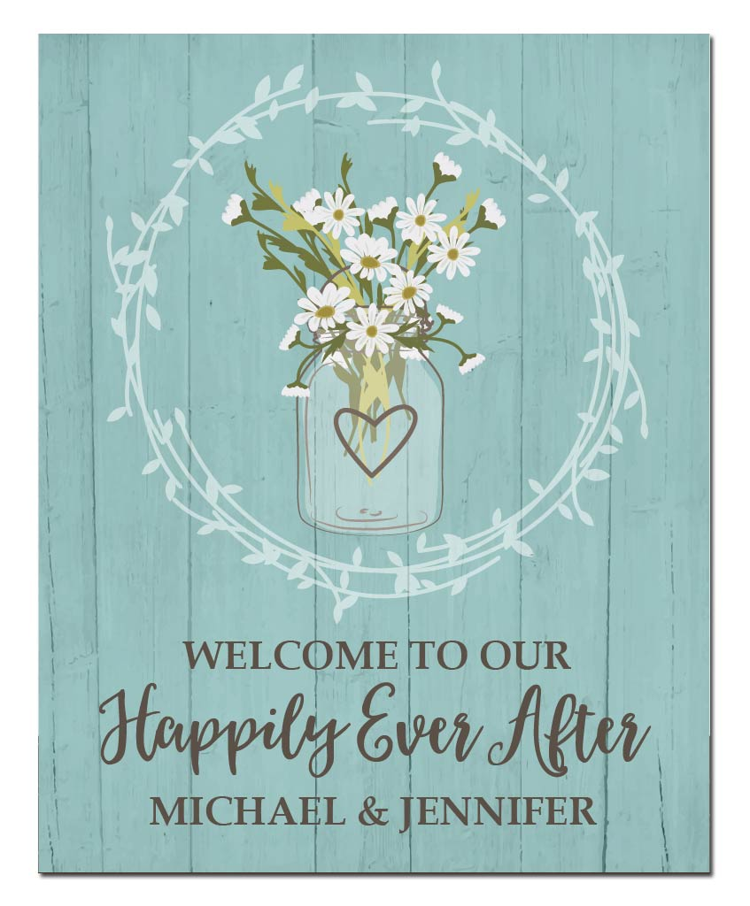 Happily Ever After Welcome Print - Hypolita Co.