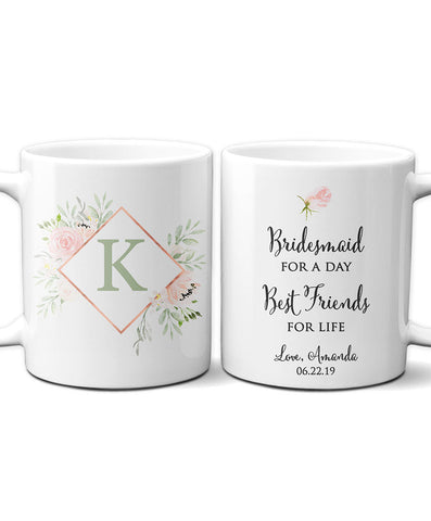 Personalized Bridesmaid Mug - Hypolita Co.