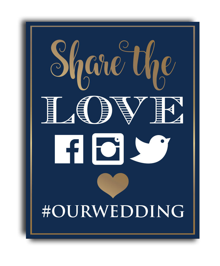 Share the Love Hashtag Print