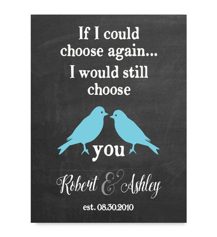 Choose Again Anniversary Print