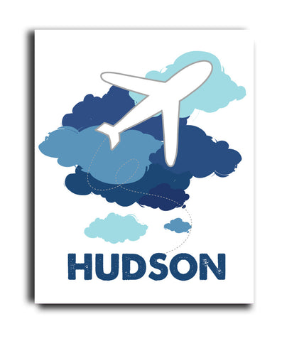 Plane Clouds Print - Hypolita Co.