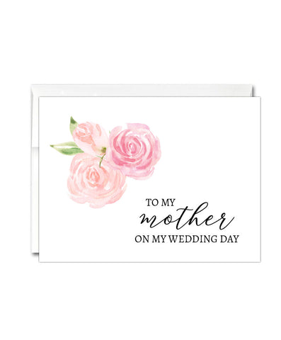 Mother Wedding Thank You Card - Hypolita Co.