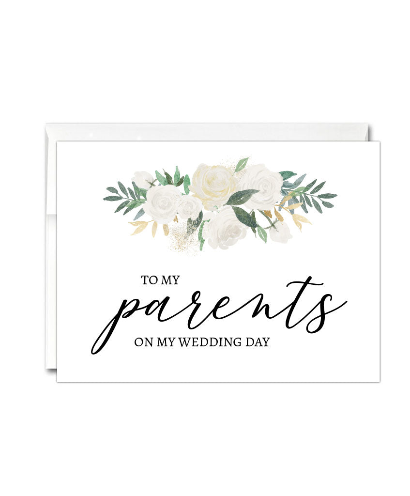 Parents Wedding Thank You Card - Hypolita Co.