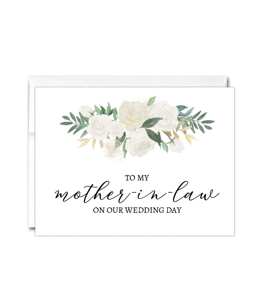 Mother In Law Wedding Thank You Card - Hypolita Co.