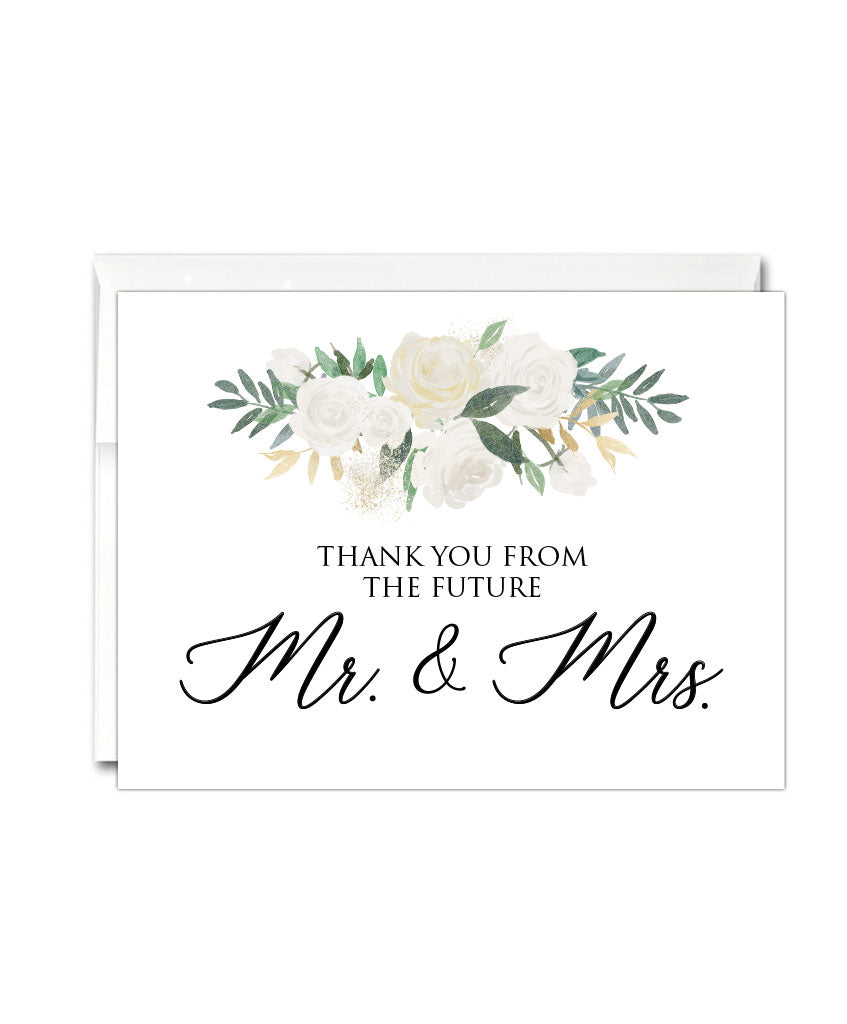 Wedding Thank You Card - Hypolita Co.