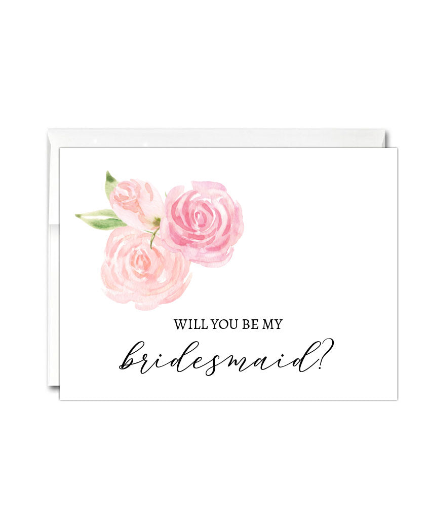 Will You Be My Bridesmaid Card - Hypolita Co.