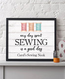 Day Spent Sewing Print - Hypolita Co.