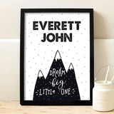 Dream Big Mountain Print - Hypolita Co.