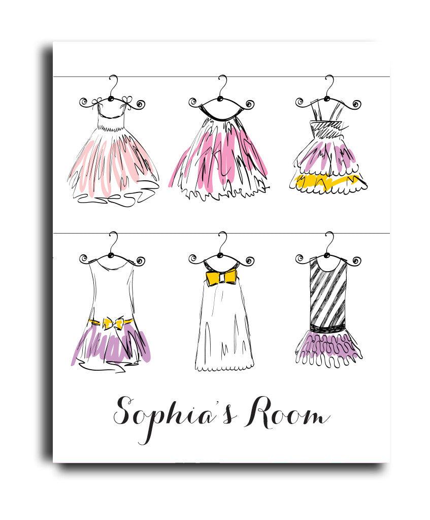 Dress Collage Print - Hypolita Co.