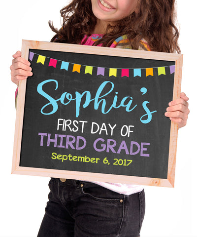 First Day of School Digital File