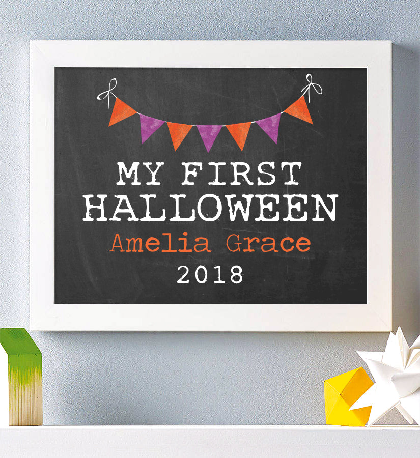My First Halloween Print - Hypolita Co.
